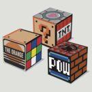 Geeky Cubes by D4N13L
