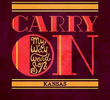 Kansas Carry On My Wayward Son by Rachel Krueger