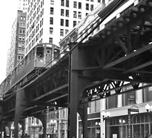 Chicago Train by emmaclarke