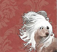 Chinese Crested  by damasktattoo