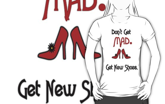 Don't get MAD! by Maria  Gonzalez