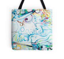 Fibroblasts  - Watercolor Painting Tote Bag