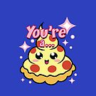You're A Pizza... [Phone & iPad cases] by thunderesque