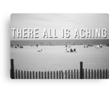 """There All Is Aching"" Canvas Print"