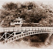 Gorge Bridge, Launceston, Tasmania, Australia by fantasytripp