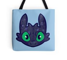 tiny toothless Tote Bag