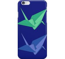 Two cranes iPhone Case/Skin