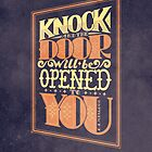 Door will be Opened by Rachel Krueger