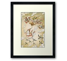 Dream of flying Framed Print