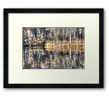 Impressions of Hill End, reflections. Framed Print