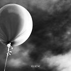 Dark balloon by Kell Rowe