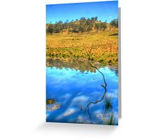 You're a stick in the mud Blue ! Greeting Card