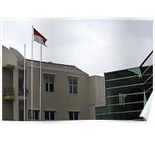 Bank Mega office tower Poster