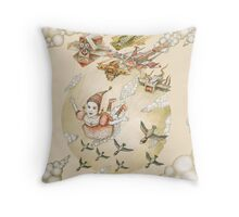 Dream of flying Throw Pillow