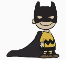 Charlie Brown Batman by DubstepDesigns