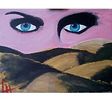 Eyes in the desert Photographic Print