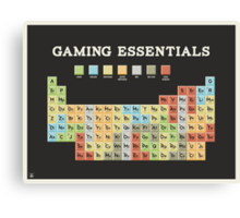 Gaming Essentials Canvas Print