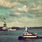 Liberty Island, New York City by crashbangwallop