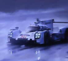 Mark Webber's No. 20 Porsche 919 Hybrid by Lightrace