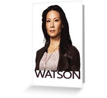 Elementary - Watson Greeting Card