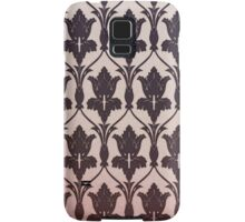 221B Baker Street Wallpaper Samsung Galaxy Case/Skin