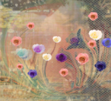 Meditation, Heal The World with Art Love Kindness Sticker