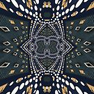 Symmetrica - Gold Denim by webgrrl