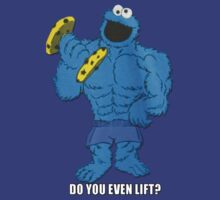 The Cookie Monster Lifts by VeilSide07