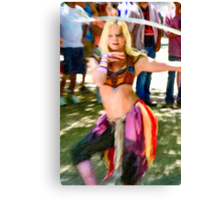 Dancer in Oile 002 Canvas Print