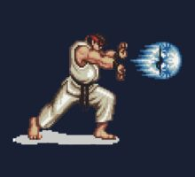 Hadouken! 8-bit Ryu. by TheJollyLlama