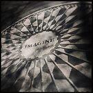 Imagine, Strawberry Fields NYC by crashbangwallop