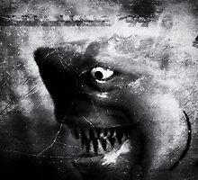 ©DA Shark IA Monochromatic by OmarHernandez