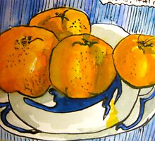 mandarins by Evelyn Bach
