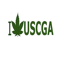 I Love USCGA by Ganjastan