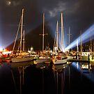 Marina Lights - Dark Mofo 2014 by clickedbynic