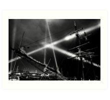 Dark Mofo 2014 - Articulated intersect  Art Print