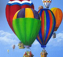 Up, Up and Away Again by Heather Holland by Heatherian