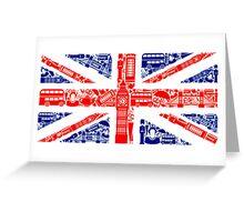 Landmark and Flag Greeting Card