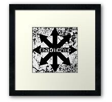 Comical Carnage - ChaotiCritic Framed Print