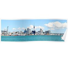 Auckland Panorama Poster