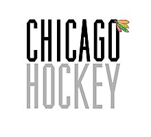 Chicago Hockey Photographic Print