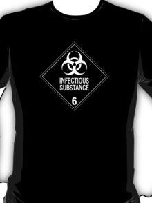 HAZMAT Class 6.2: Biohazard T-Shirt