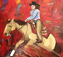 She's Reining on my Parade by SkyeWieland