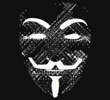Anonymous White Vendetta. by SoftSocks
