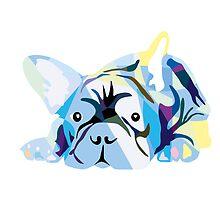 Blue Bulldog by Doggenhaus