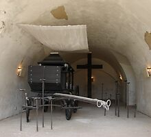 Ceremonial Hall I. - fort Terezín (National Suffering Memorial) by Natas