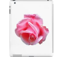 Pink rose iPad Case/Skin