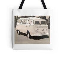 VW Type 2 Campervan Tote Bag