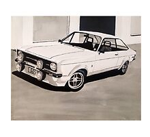 Mk.2 Ford Escort 1.6 Mexico by sidfox