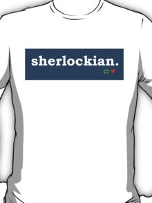 Tumblr-Themed Sherlockian Tee  T-Shirt